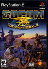 PS2 Game: SOCOM U.S. NAVY SEALS Complete 2002 SONY *Ships Free w/$35 Combo