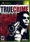 XBOX Game: TRUE CRIME: STREETS OF L.A. 2003 ACTIVISION *Ships Free w/$35 Combo