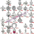 Silver Oyster Pearl Beads Cage - Turtle Heart Owl Dolphin Bear Football Elephant