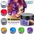 8 Color Glam Hair Color Pomade Wax Cream Temporary Modeling Hair Social Media