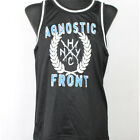 AGNOSTIC FRONT Track Top Shirt S-XL Madball/Sick Of It All/Warzone/Cro-Mags/NYHC