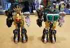 Power Rangers Wild Force Deluxe Megazord and Gorilla Megazord Parts Lot
