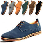 Mens Suede Leather Lace Up Shoes Formal Oxfords Business Shoes British Style