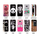 Cute Silicone Gel Soft Vintage Panda Case Cover For Samsung Galaxy S8/S8 Plus