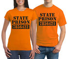 State Prison Inmate funny T-shirt Halloween Costume party group Shirts