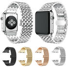 Large/Small Stainless Steel Band Bracelet Link Watchband For Apple Watch 38 42