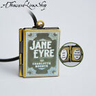 Jane Eyre Book Locket (quote inside) Charm, Keychain or Pendant Necklace