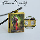 The Princess Bride Book Locket (quote inside) Charm Keychain or Pendant Necklace