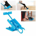 Slider Shoe Horn No Bending Helper Easy on Stretching Sock Aid Kit And Easy off