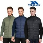 Trespass Saunter Mens Full Zip Fleece Jacket Black Padded Heavyweight  & Casual