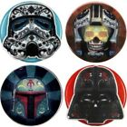 Candy Skull Star Wars Inspired Decorative ID Badge Holders by Real Charming $9.99 USD