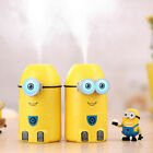 250ML Cute Minions Humidifier For Home Cars Bedroom Office USB Humidifier