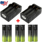Tactical 3X T6 LED Flashlight 60000lm Power Torch Light Lamp 18650 Charger USA