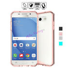 Shockproof Hard Clear Back Bumper Case Cover for Samsung Galaxy J3 Emerge (2017)