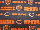 CHICAGO BEARS NFL-men's tieback- OR bouffant -SCRUB HATS / MEDICAL- your choice