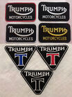 Triumph iron on Sew On Embroidered patch car motorcycle biker Brand New Badge €2.04 EUR on eBay
