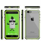 iPhone 6+/6S+ Plus  Waterproof Case, PUNKcase CRYSTAL Light Green  W/ Attached S