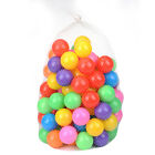 50/100PCS Ocean Balls Colorful Soft Plastic Balls Baby Kids Toys Swim Pit Game