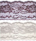 Flat Raschel Lace 4-in wide ~ Nice Quality~As Low As .60 a yard~3 Color Choices