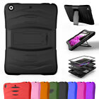For 2017 iPad 9.7 5th Gen Hybrid Screen Protector Defender Case Cover A1822/1823