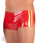 SHO021 Rubber Boy Shorts with 3 x 1cms Side Stripes