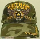 NEW VIETNAM VETERAN VIET NAM VET 1961 1975 USA AMERICAN BALD EAGLE STAR CAP HAT