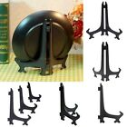 "5pc Hot 3""/5""/7""/9"" Picture Easel Stand Plate Pedestal Display Holder Black Rack"