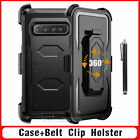 For Samsung Galaxy Note 8 / S8 / S9 Plus Defender Rugged Case Cover W/Belt Clip