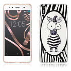 Patterned Soft TPU Rubber Back Skin Gel Silicone Case Cover For Nokia Lenovo
