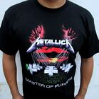 NEW! METALLICA MASTER OF PUPPES HEAVY METAL BAND T SHIRT image
