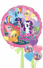 My Little Pony Happy Birthday - Inflated Birthday Helium Balloon Delivered in a