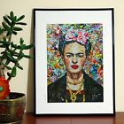 Frida Kahlo Post Stick Art - A3 A4 - FREE Shipping - NVW