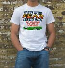 I LIVE WITH FEAR GOLF T-SHIRT