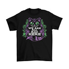 Cheshire Cat T-Shirt Unisex Funny Alice in Wonderland Halloween Adult Sizes New image