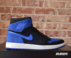 Air Jordan 1 Retro High Flyknit Black Royal Blue 919704-006 Size 8-13