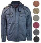MAXIMOS MEN'S COAT HOODED SHERPA FLEECE LINED JACKET SAHARA1 MULTIPLE COLORS