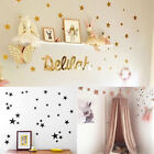 Various size Stars Wall Stickers Kids Baby Decal Art Nursery