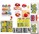 Children Pokemon Pokeball Pop-up 7cm Plastic  Ball Pikachu Monster Kids toy Gift