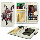 For alcatel Pop D1 - Clip Printed Series PU Leather Wallet Case