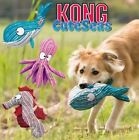 Kong CuteSeas - Soft Plush Dog Puppy Cuddle Snuggle Toy - Crinkles and Squeaks