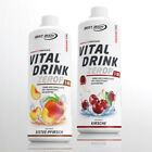 9,88€ /Ltr.) Best Body Low Carb Vital Drink  2 x 1 Ltr. Getränkekonzentrat Sirup