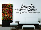 Wall Stickers Vinyl Decal Decor Love FamilyTogether Sign Word Words Phrase Heart $64.99 USD on eBay