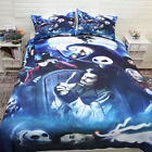 The Nightmare Before Christmas Doona Quilt Duvet Covers Set Queen King Size NEW