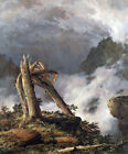 Storm in the Mountains (classic landscape art print)
