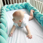 Infant Baby Soft Guardrail Bed Crib Collision Creep Bumpers Safety Rail Protect