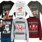 Womens Ladies Novelty Christmas Xmas Jumper Sweatshirt Top Sweater Festive Gift