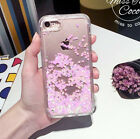 Dynamic Quicksand Glitter Liquid Stars Hard Case Back Cover For iPhone SE 5 6+ 7
