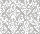 Ikat Home Decor Damask Woven Fabric Printed by Spoonflower BTY