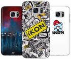 IKON KPOP KOREAN BOY BAND RUBBER PLASTIC PHONE COVER CASE FOR SAMSUNG GALAXY S