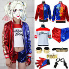 Womens Suicide Squad Harley Quinn Cos Halloween Costume Jack
